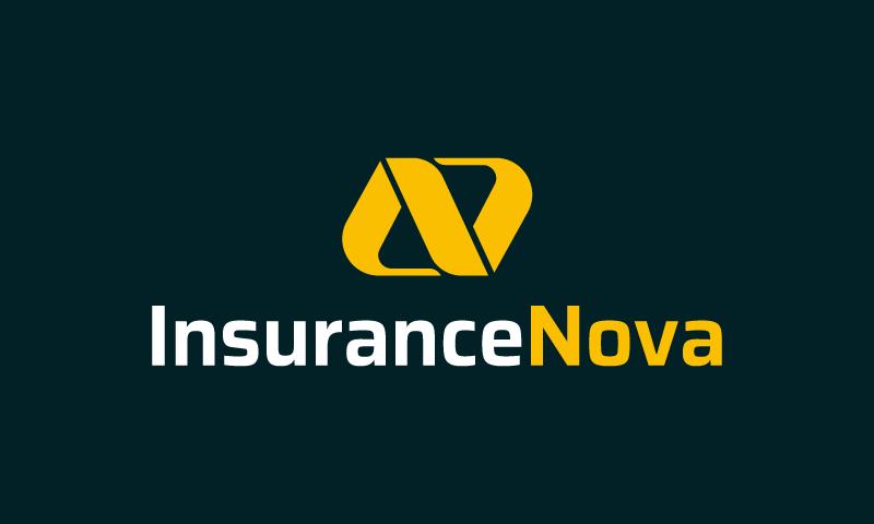 Insurancenova - Insurance startup name for sale