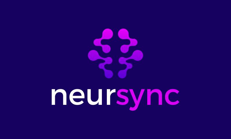 Neursync - Biotechnology startup name for sale
