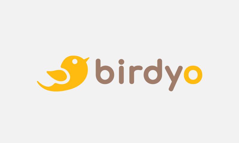 Birdyo - Modern business name for sale