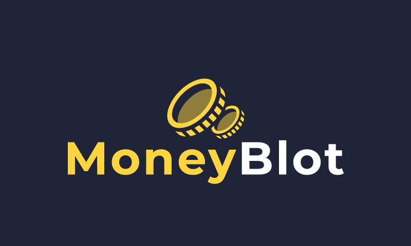 Moneyblot - Finance business name for sale