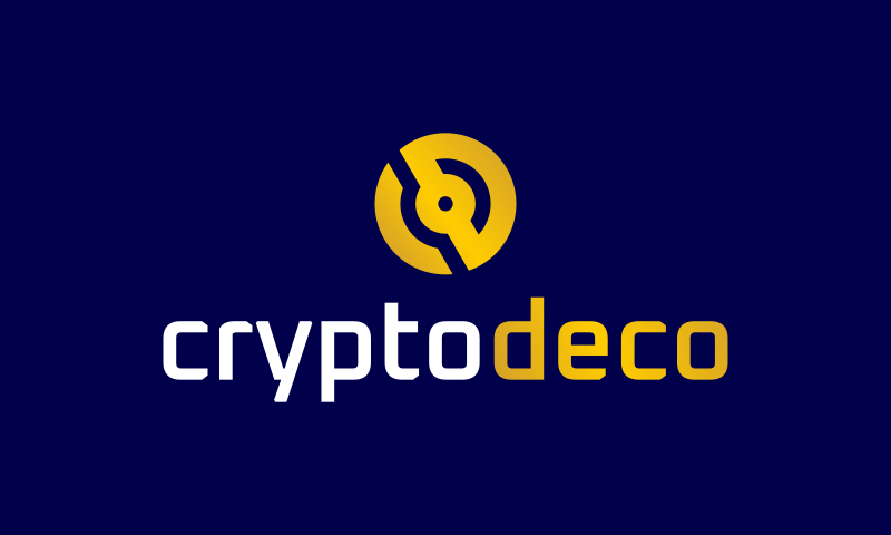 Cryptodeco - Technology domain name for sale