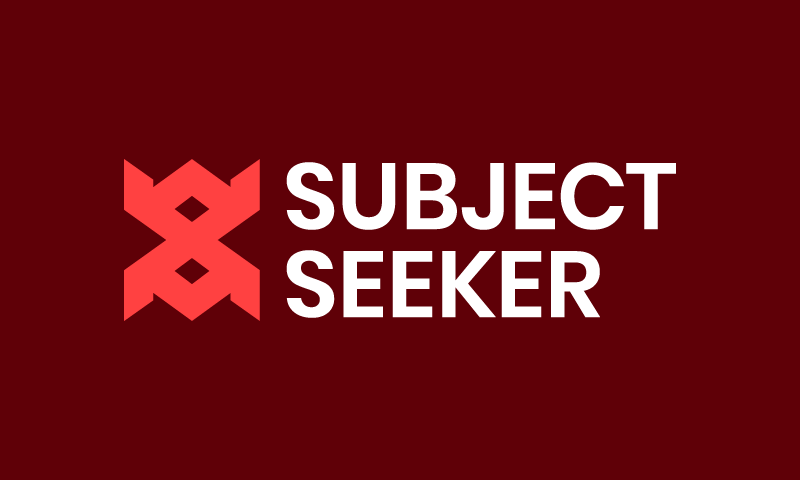 Subjectseeker - Business domain name for sale
