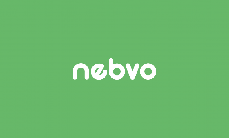 nebvo logo - Original 5-letter domain name