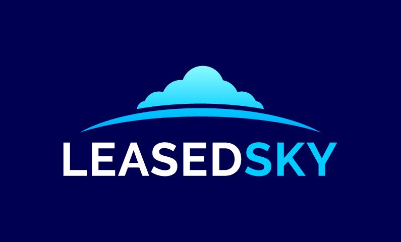 Leasedsky - Technology startup name for sale