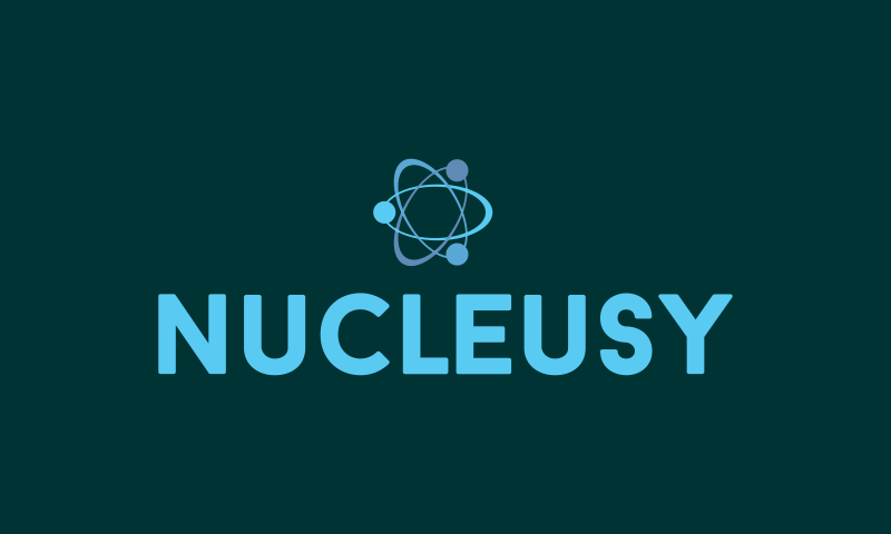 Nucleusy - Artificial Intelligence startup name for sale