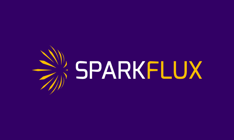Sparkflux - Modern brand name for sale
