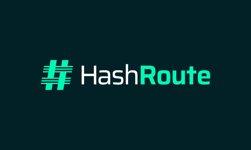 Hashroute - Technology brand name for sale