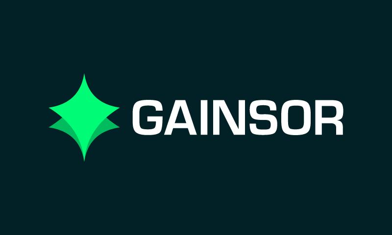 Gainsor logo