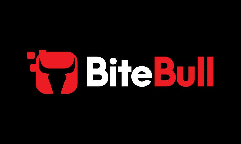Bitebull - Retail startup name for sale
