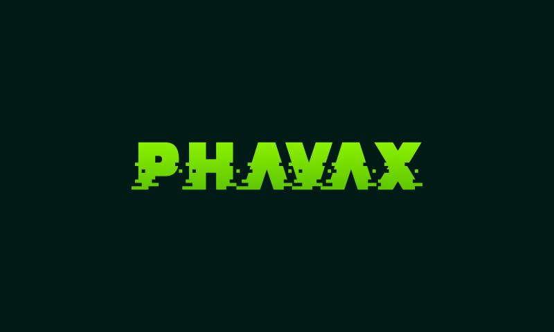 Phavax - Technology business name for sale