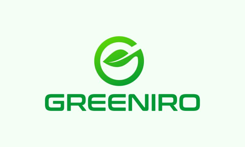 Greeniro - Environmentally-friendly brand name for sale