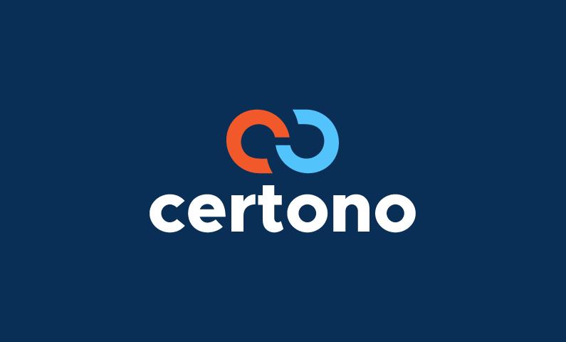 Certono - Business company name for sale