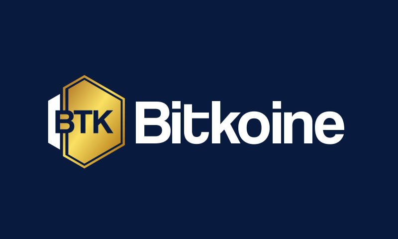 Bitkoine - Cryptocurrency business name for sale