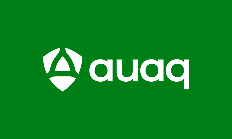 Auaq - Retail startup name for sale
