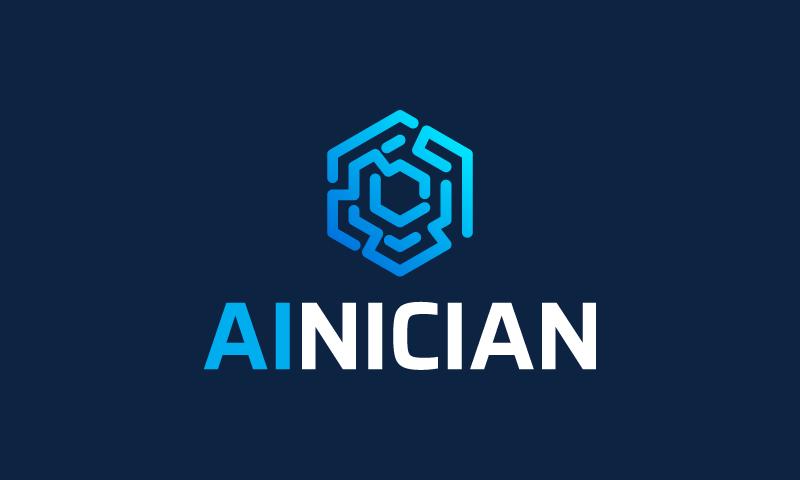 Ainician - AI company name for sale