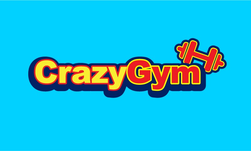 Crazygym - Exercise startup name for sale