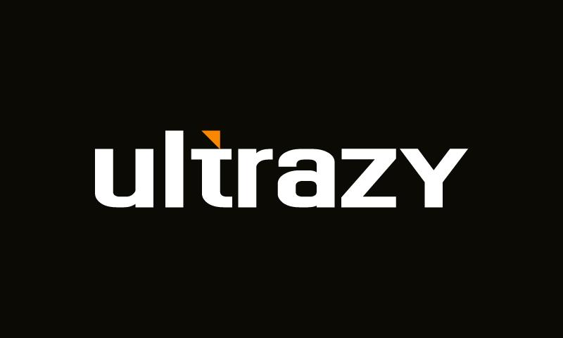Ultrazy - Modern brand name for sale