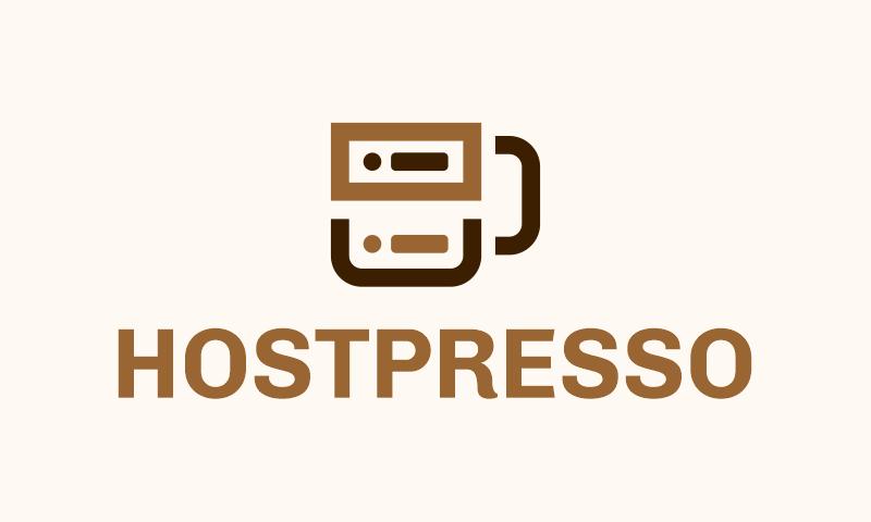 Hostpresso - Technology brand name for sale