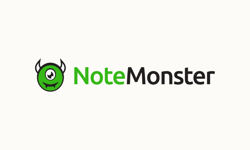 Notemonster - Technology startup name for sale
