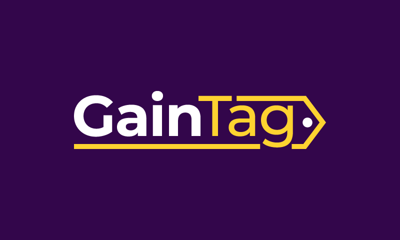 Gaintag - Sales promotion startup name for sale