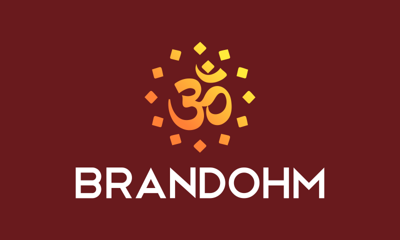 Brandohm - Brandable domain name for sale