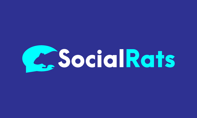 Socialrats - Social networks company name for sale