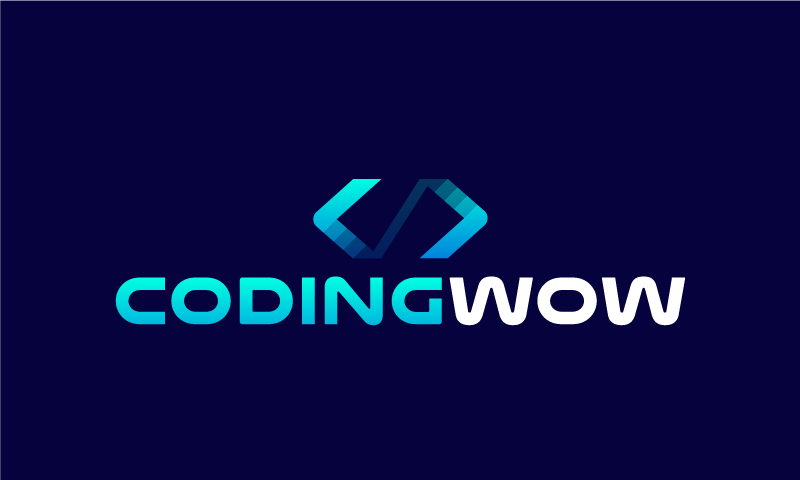 Codingwow - Programming company name for sale