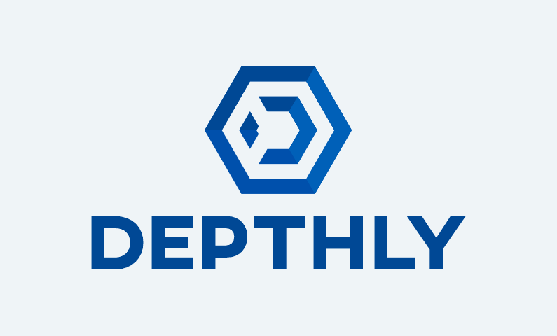 Depthly - Design business name for sale