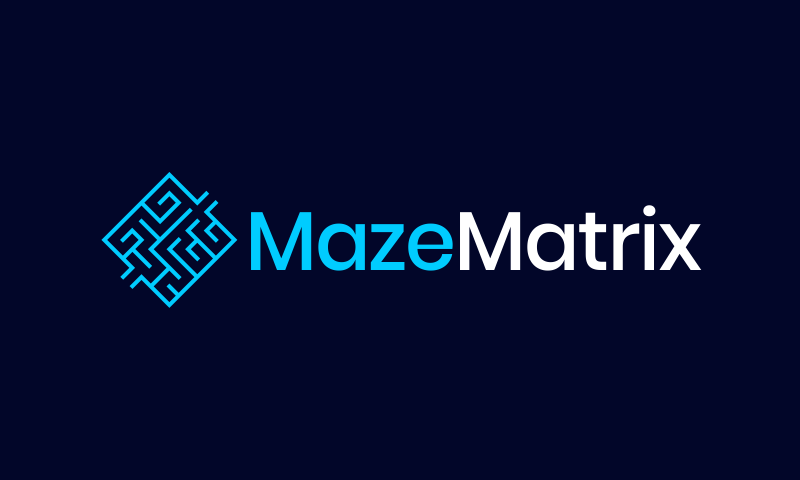 Mazematrix - Biotechnology business name for sale