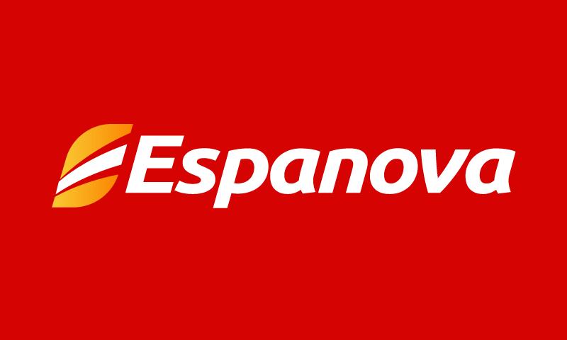 Espanova - Travel domain name for sale