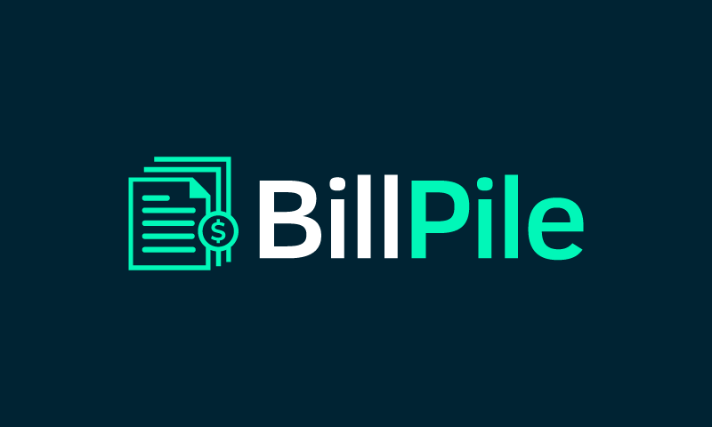 Billpile - Accountancy brand name for sale