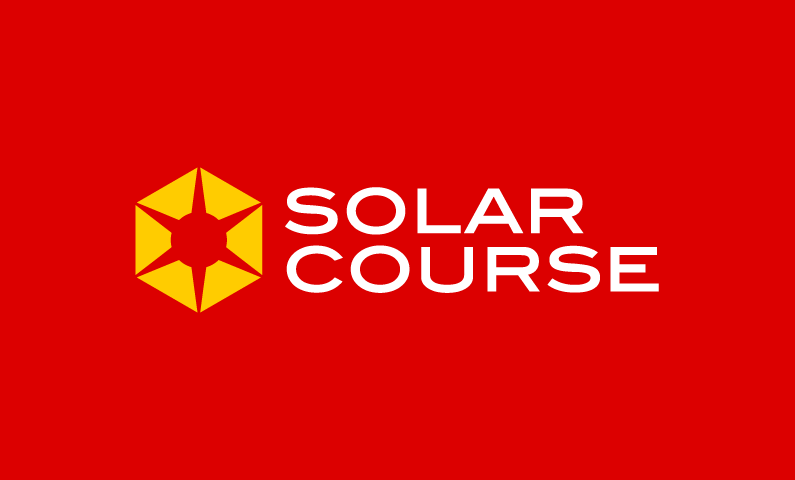 Solarcourse - Education startup name for sale