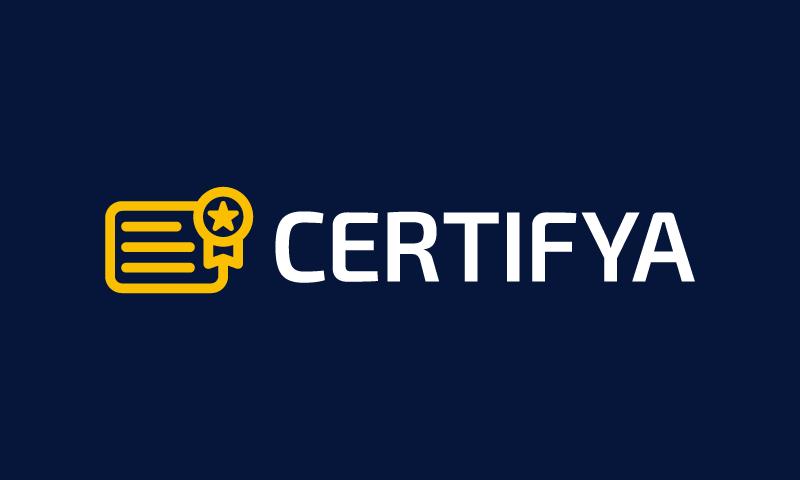 Certifya