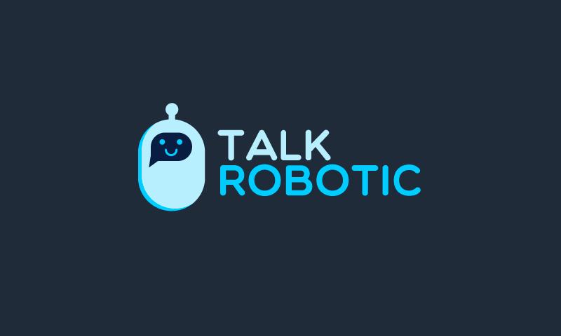 Talkrobotic - Robotics business name for sale
