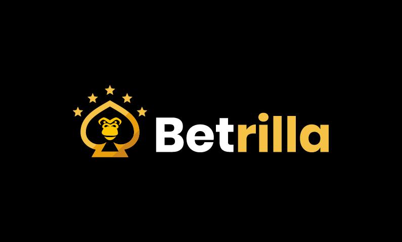 Betrilla - Gambling startup name for sale