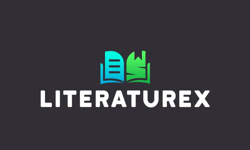 Literaturex - Contemporary domain name for sale