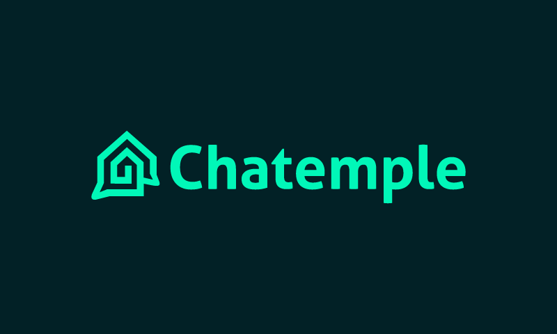 Chatemple - Social startup name for sale