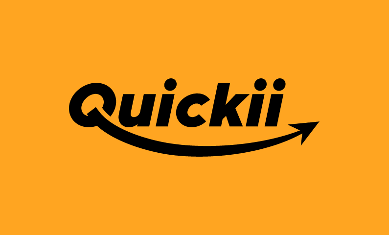 Quickii - Modern business name for sale