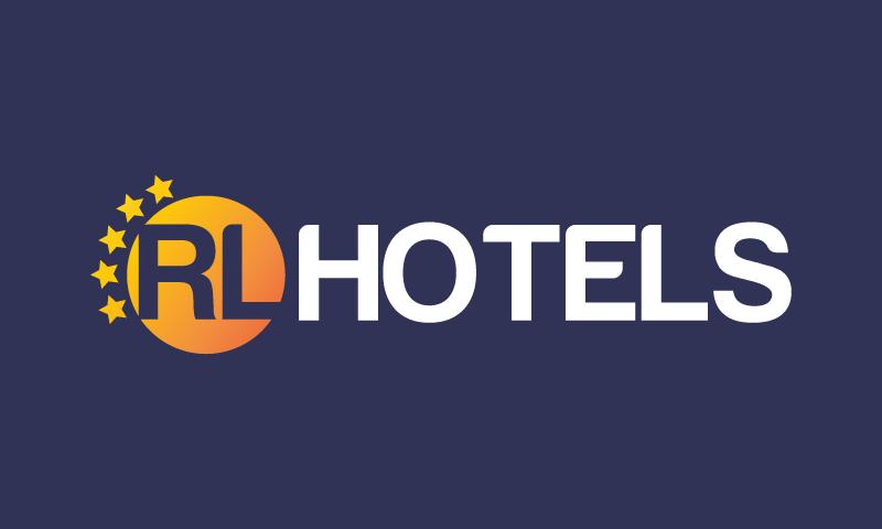 Rlhotels - Hospitality domain name for sale