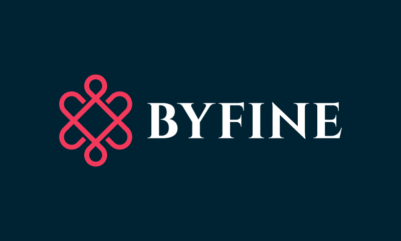 Byfine - Beauty company name for sale