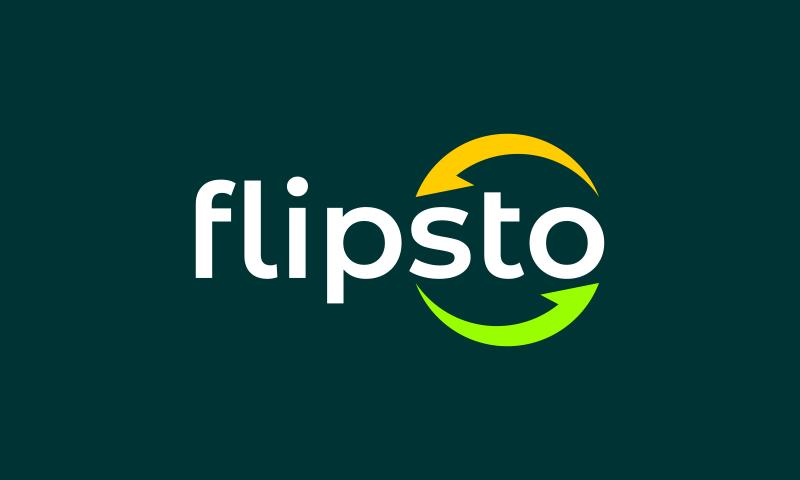 Flipsto - Retail brand name for sale
