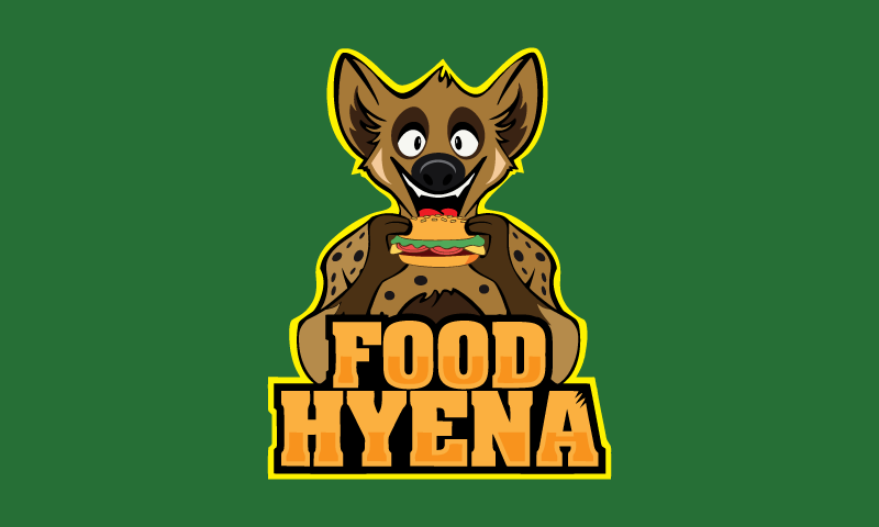 Foodhyena - Food and drink business name for sale