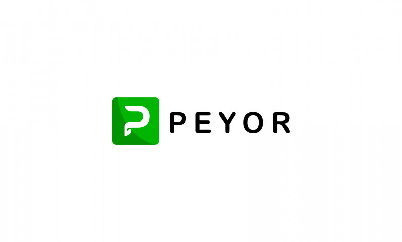 Peyor - Abstract 5-letter domain name