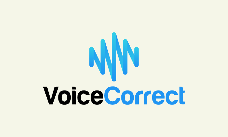 Voicecorrect - Music startup name for sale