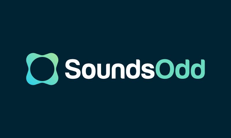 Soundsodd - Music domain name for sale