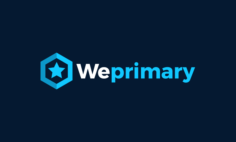 Weprimary - Modern business name for sale