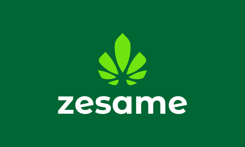 Zesame - E-commerce startup name for sale