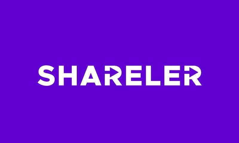 Shareler - Social networks startup name for sale