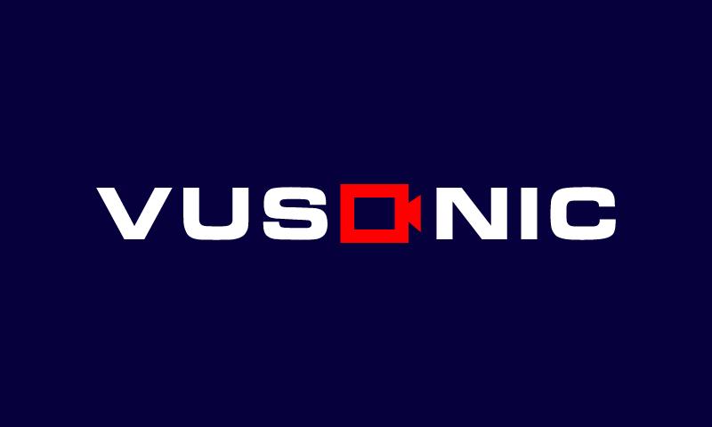 Vusonic - Retail startup name for sale