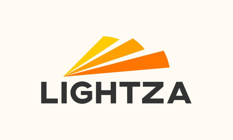 Lightza - Interior design startup name for sale